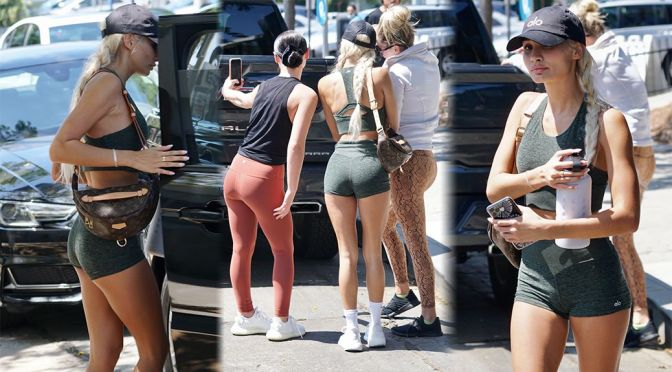 Pia Mia Sexy Ass In Shorts