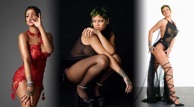 Rihanna – Fantastic Body in a Sexy Photoshoot for Vogue Italia Magazine