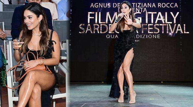 "Vanessa Hudgens – Beautiful Legs at ""Filming Italy Festival"" in Santa Margherita di Pula"