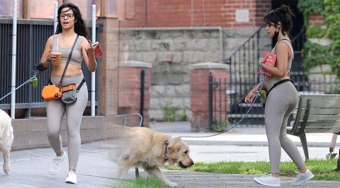 Camila Cabello – Sexy Big Ass in Leggings Out in Toronto