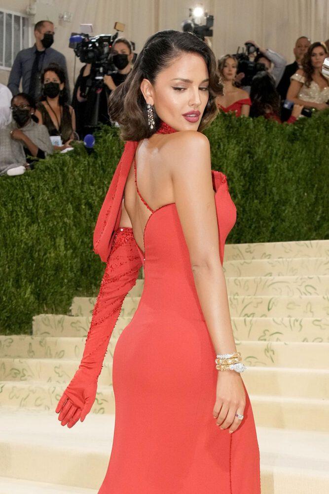 Eiza Gonzalez Sexy Red Dress