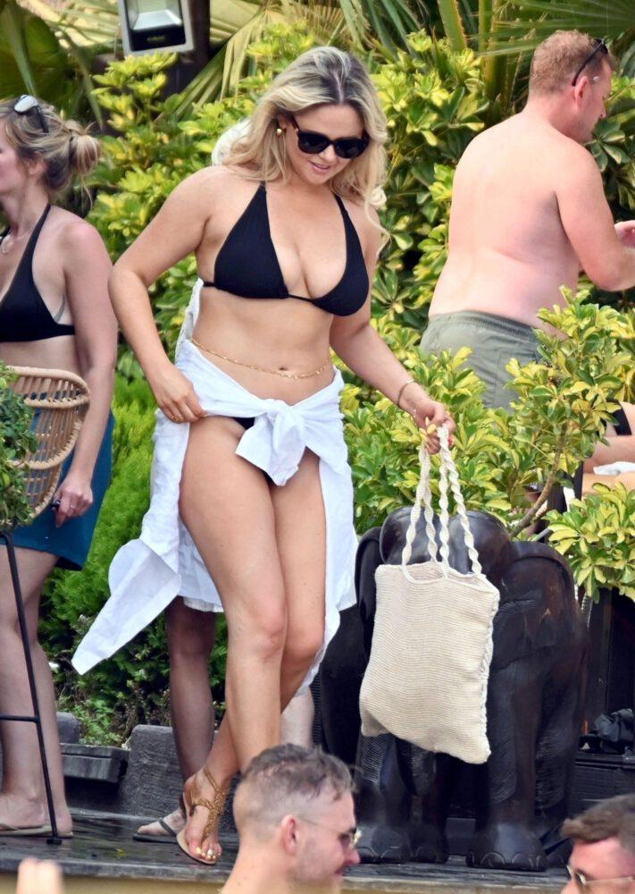 Emily Atack Big Boobs In Bikini
