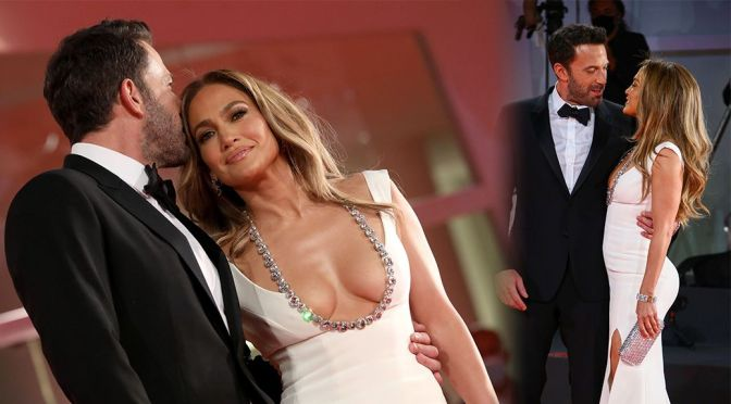 """Jennifer Lopez – Fantastic Boobs and Ass at """"The Last Duel"""" Premiere in Venice"""