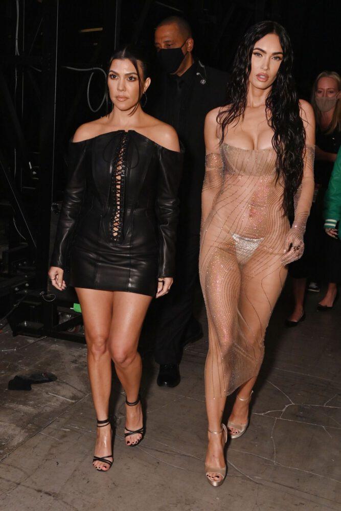Megan Fox Boobs And Thong Panties