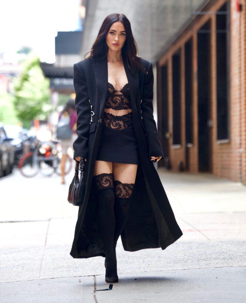 Megan Fox Sexy Boobs And Legs