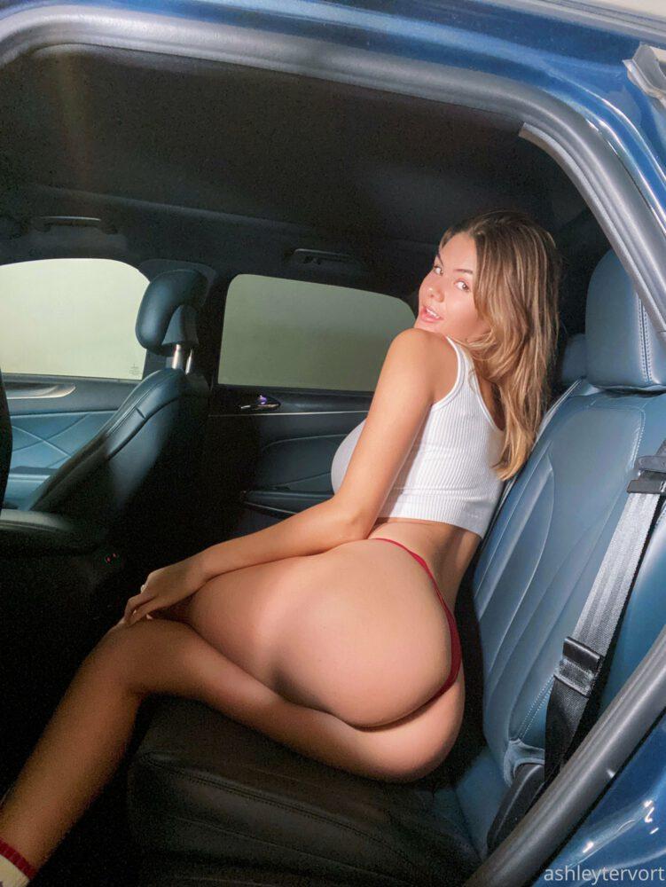 Ashley Tervort Big Tits Red Panties