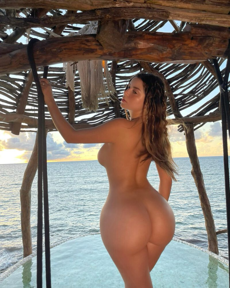 Demi Rose Mawby Naked Ass And Tits