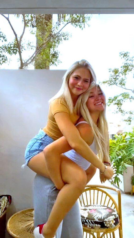 Jordyn Jones Katie Sigmond Sexy Girlfriends