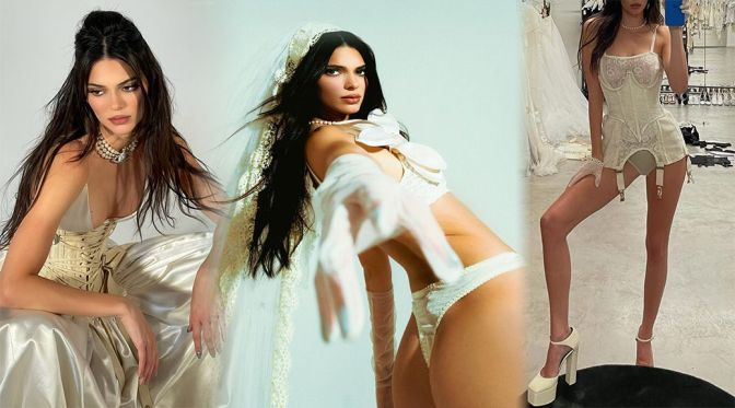 Kendall Jenner Beautiful Body In Lingerie