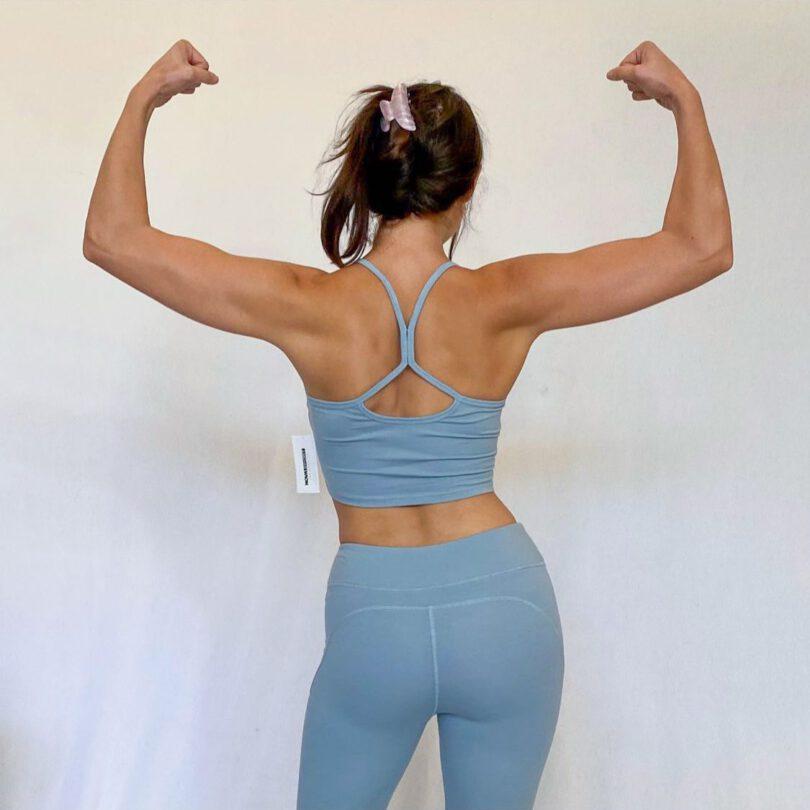 Kira Kosarin Ass In Leggings And Sports Bra