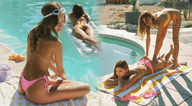 Kristen Kiehnle & Amara Johnson – Gorgeous Bodies in Bikini in House of ZZ Swimwear Photoshoot