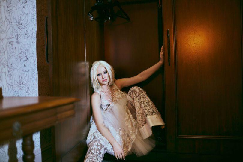 Madelaine Petsch Gorgeous In Bra