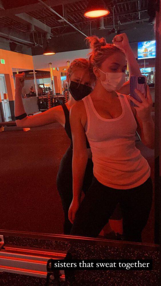 Natalie Alyn Lind Sexy In Gym