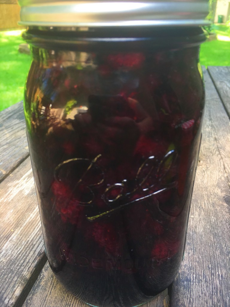 Mixed Berry Maple Syrup