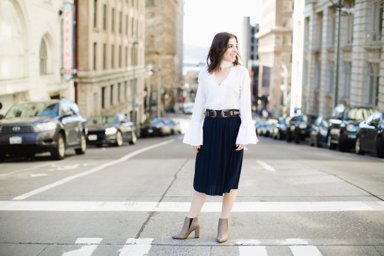 Seattle fashion blogger
