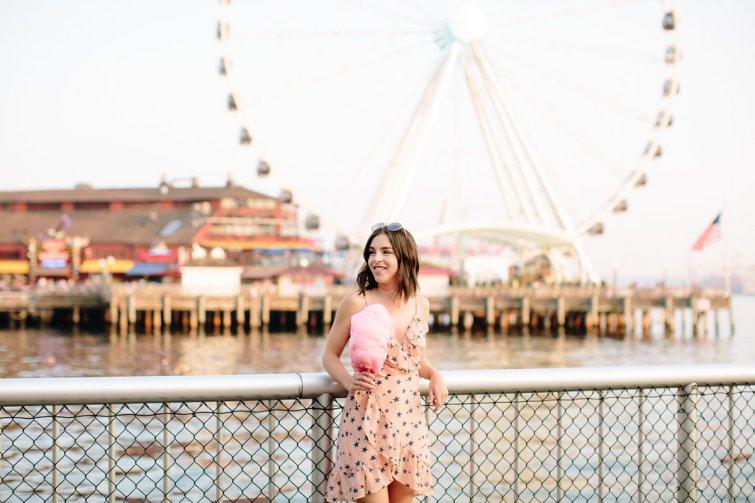 Star print wrap dress, Hot Dress Hot Mess