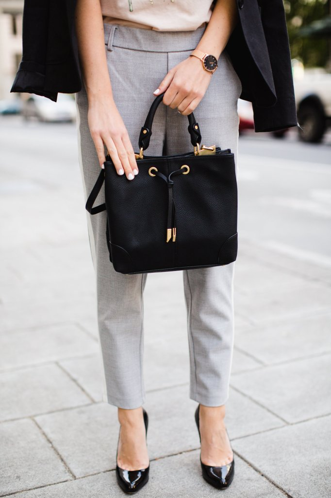 Foley and Corinna Double Compartment Satchel