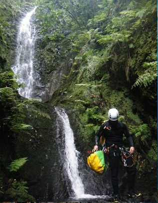 Meeting Canyoning Madeira