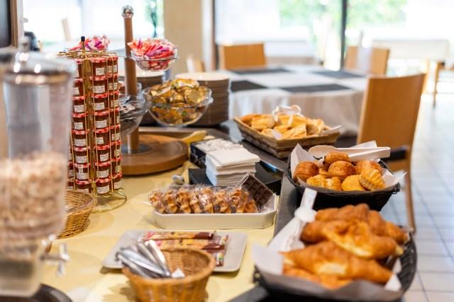 Hôtel Bagatelle Goussainville - Buffet petit-déjeuner