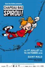 Exposition Chapeau Bas Spirou à Saint-Malo