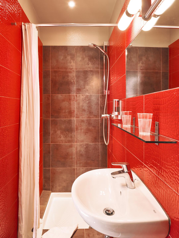 Hôtel Lemon - Menton - Salle de bain - Rez de chaussée