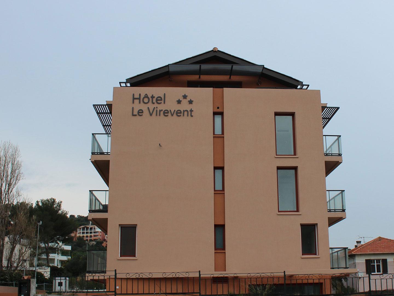 Hôtel Le Virevent Saint Raphaël - Facade
