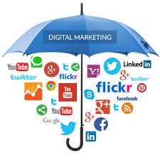 Digital Marketing Umbrella