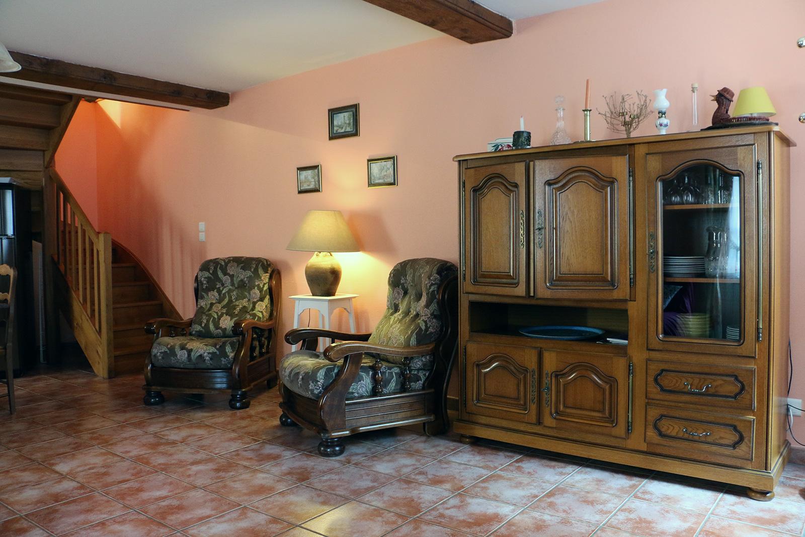 Salon – Maisonnette de l'hôtel du Nord – Restaurant Saint-Georges