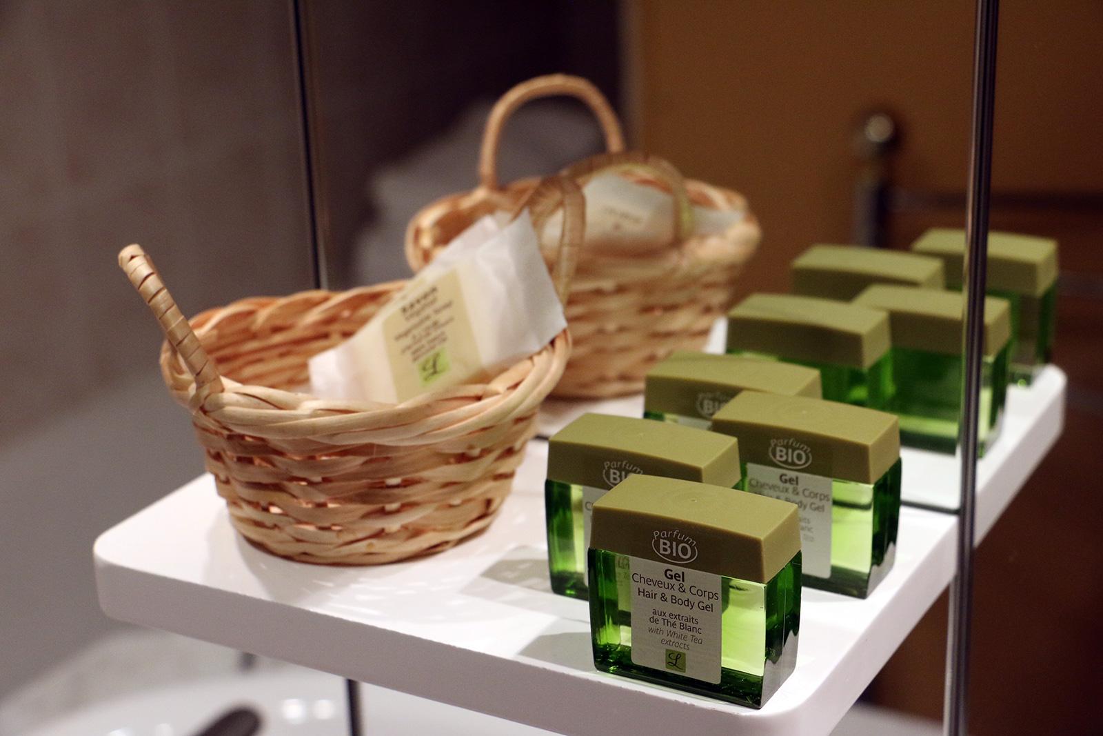 Serviteur Salle de bains – Chambre double – Maisonnette de l'hôtel du Nord – Restaurant Saint-Georges