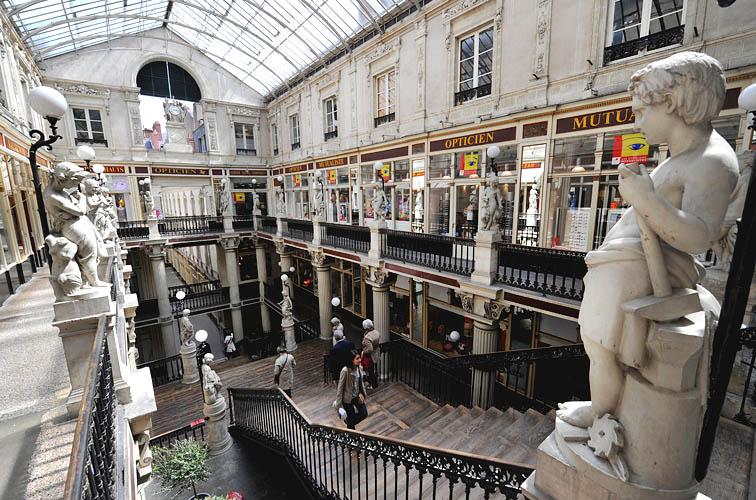 Hôtel Passage Pommeraye Nantes