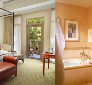 Hot Tub suite in Mokara Hotel & Spa, San Antonio, TX