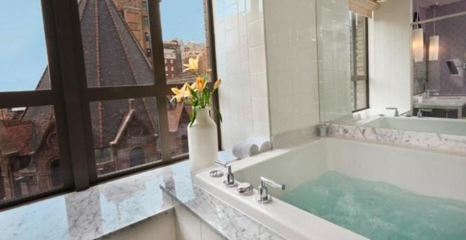 Hot tub suite in Kimpton Hotel Palomar Philadelphia, PA