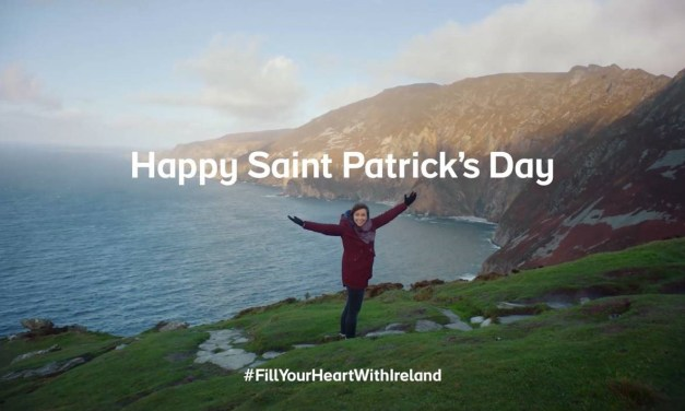 Liam Neeson joins Tourism Ireland to wish the world a Happy St Patrick's Day