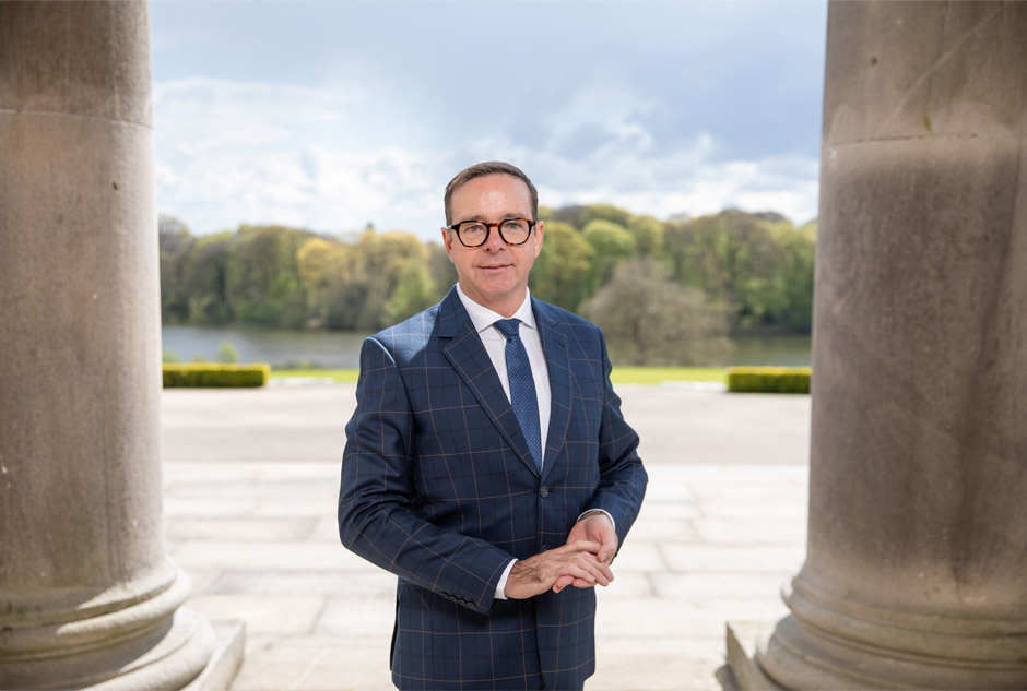 Ballyfin General Manager, Peter White