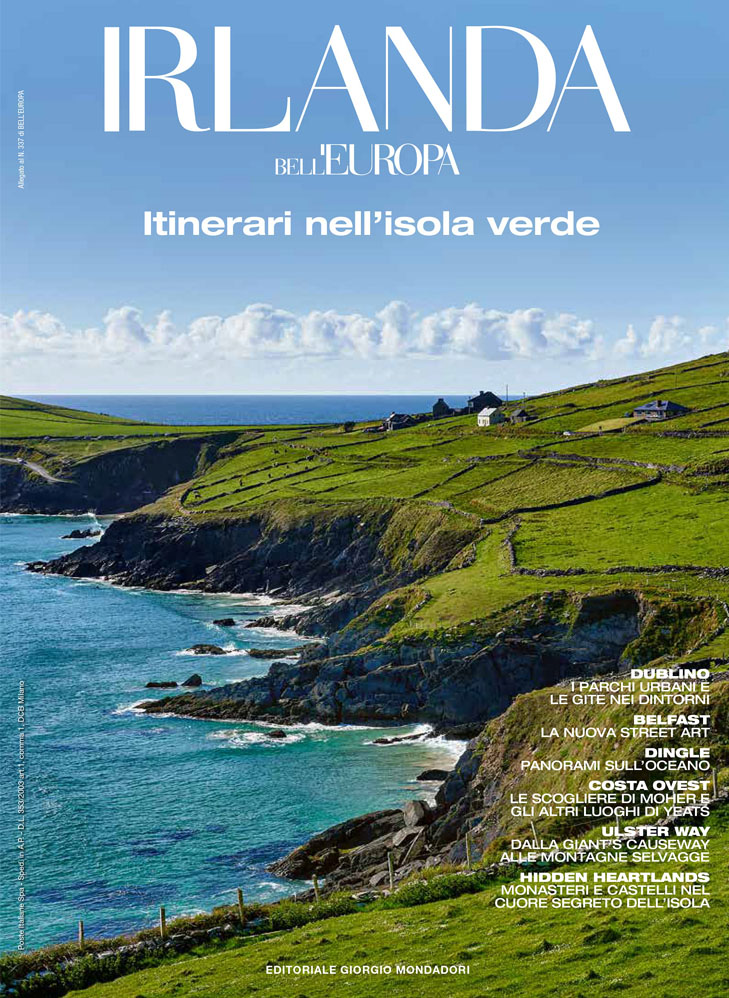 20,000+ ITALIANS READ ALL ABOUT THE ISLAND OF IRELAND