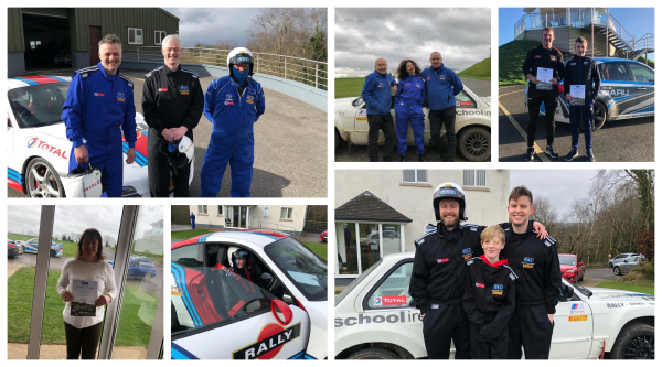 Rally School Ireland: Our rally track is OPEN!