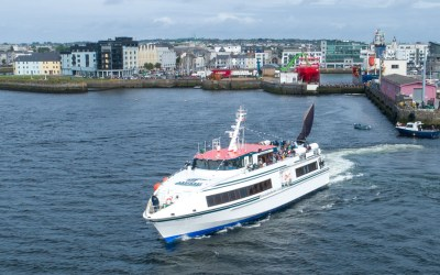Ireland's largest domestic ferry launched from Galway City