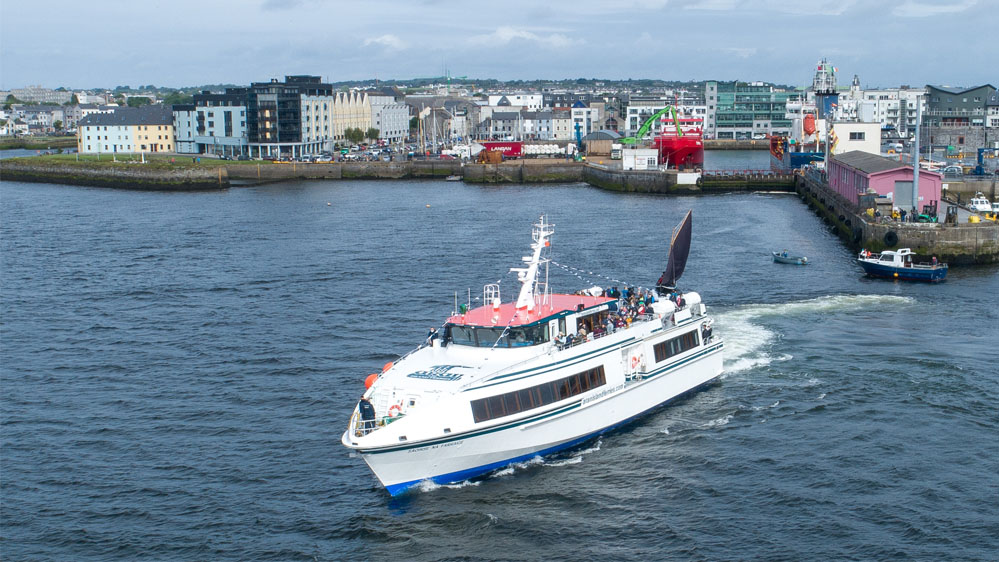 Ireland's largest domestic ferry Saoirse na Farraige