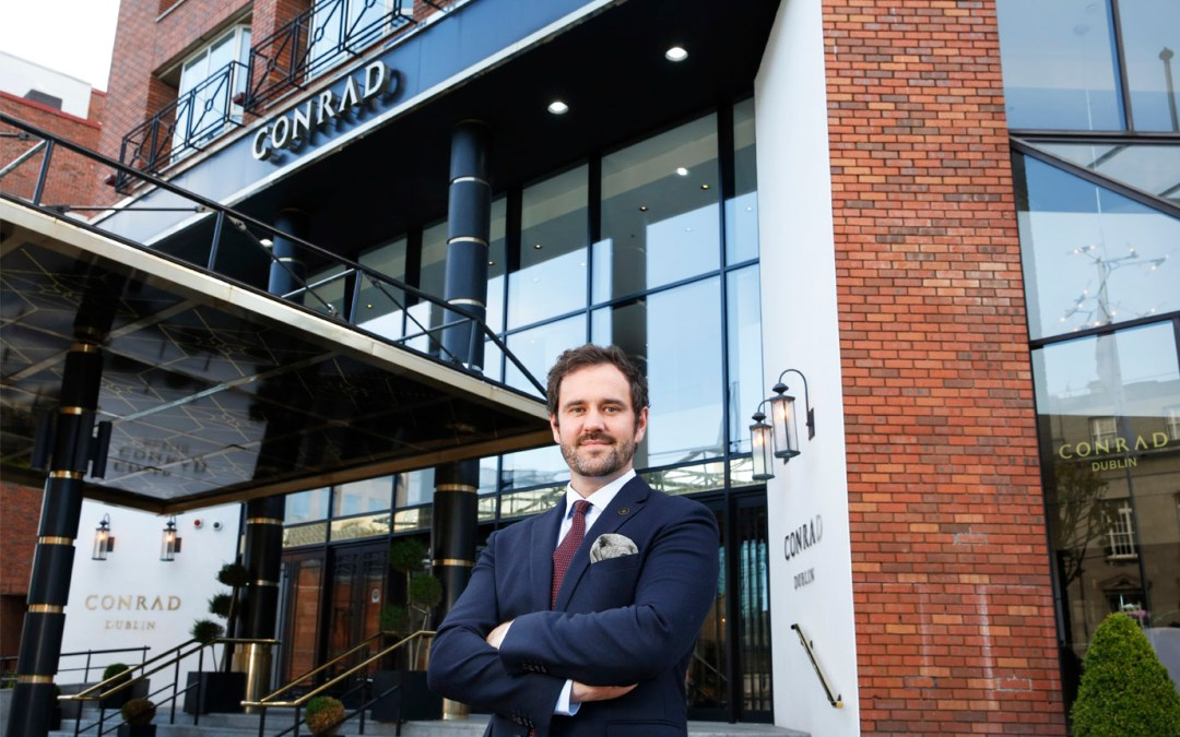 Andrew Moore Appointed General Manager Conrad Dublin