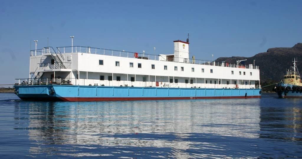 Floating Hotel in Coleraine
