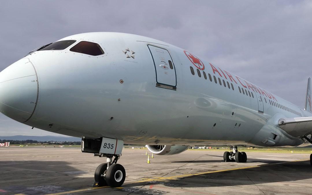 Air Canada Resumes Dublin – Toronto Service