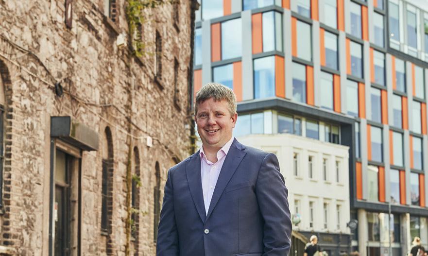 Jonas Treffers of Aloft Dublin City, chats about his illustrious career