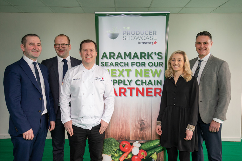 Aramark and Catex Combine for Producer Showcase Event