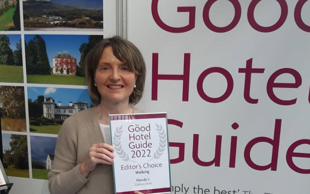 Clare Hotel Named Best Hotel in Ireland for Walking Breaks by Good Hotel Guide 2022