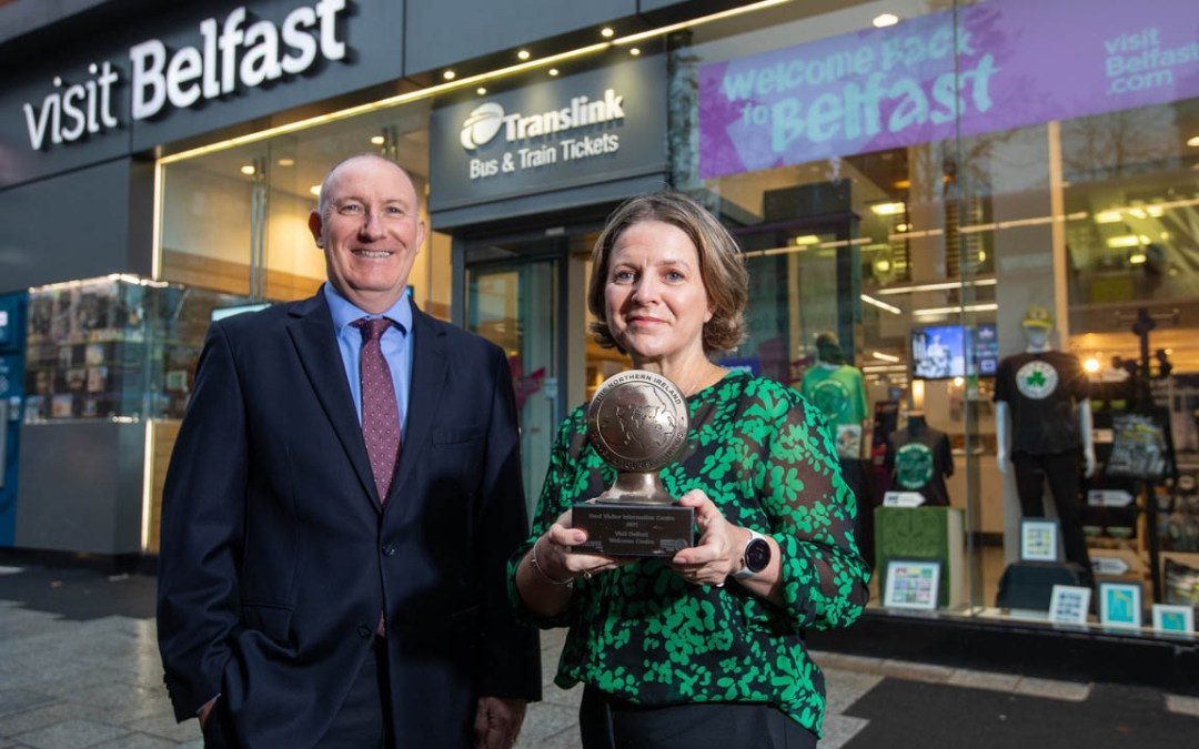 Success for Visit Belfast at Northern Ireland Tourism Awards 2021