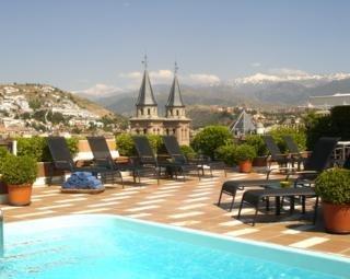 Dormir en Hotel Carmen en Granada