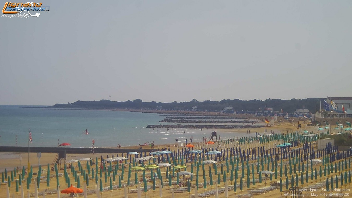 Awesome Web Cam Lignano Sabbiadoro Terrazza A Mare Contemporary ...