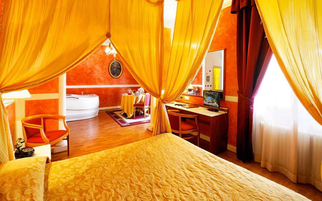 Soggiorno 1 notte in Suite con vasca idromassaggio e Centro benessere Spa in Umbria