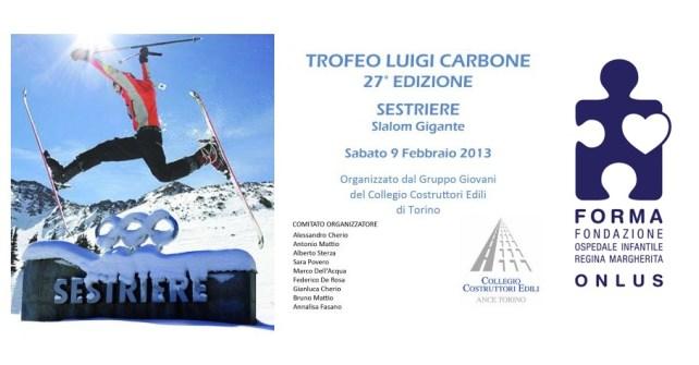 Premiazione XXVII Trofeo Luigi Carbone: ricavato record!!!