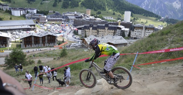Mountain Bike: Gara Nazionale di Downhill a Sestriere